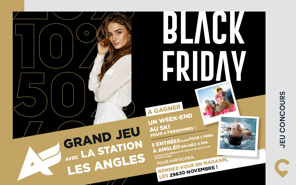 JEU CONCOURS BLACK FRIDAY 2019