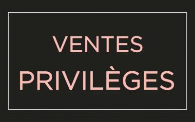 Ventes privilèges MOA