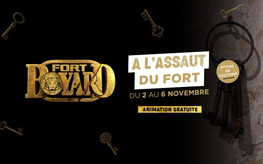 À l'assaut du Fort Boyard !